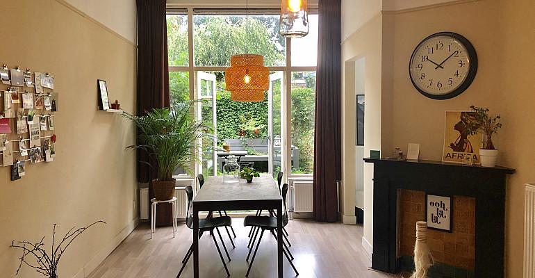 Gezellig appartement met tuin en berging